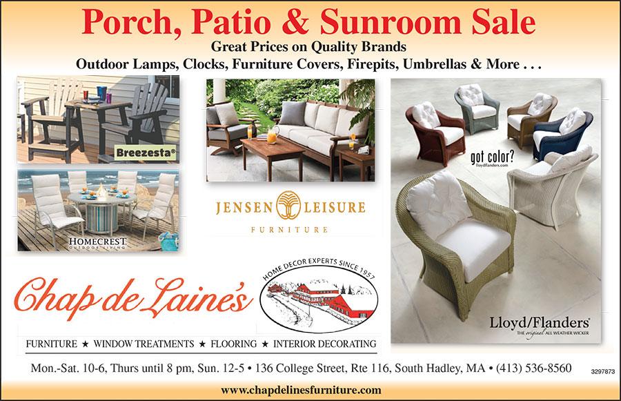 Porch, Patio & Sunroom Sale