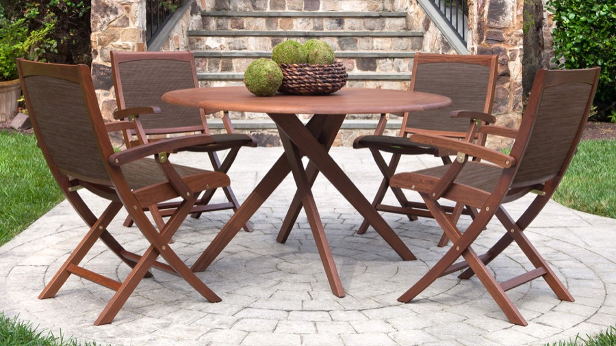 Incroyable Jensen Ipe Is Crafted With Strength And Elegance. Strikingly Beautiful,  South American Hardwood. Great For Any Outdoor Space. Many Sunbrella Fabric  Options ...