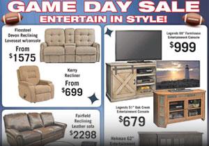Chap de Laine's Game Day Sale Promotion